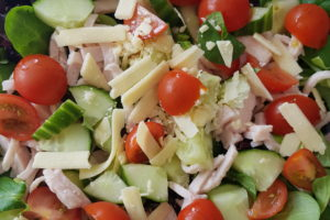 recept salade met kipreepjes