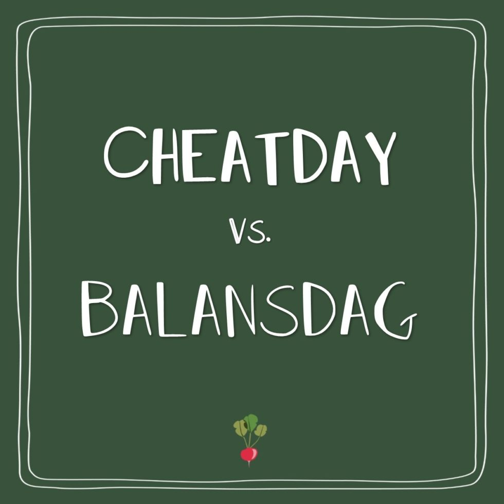 cheatday of blansdag