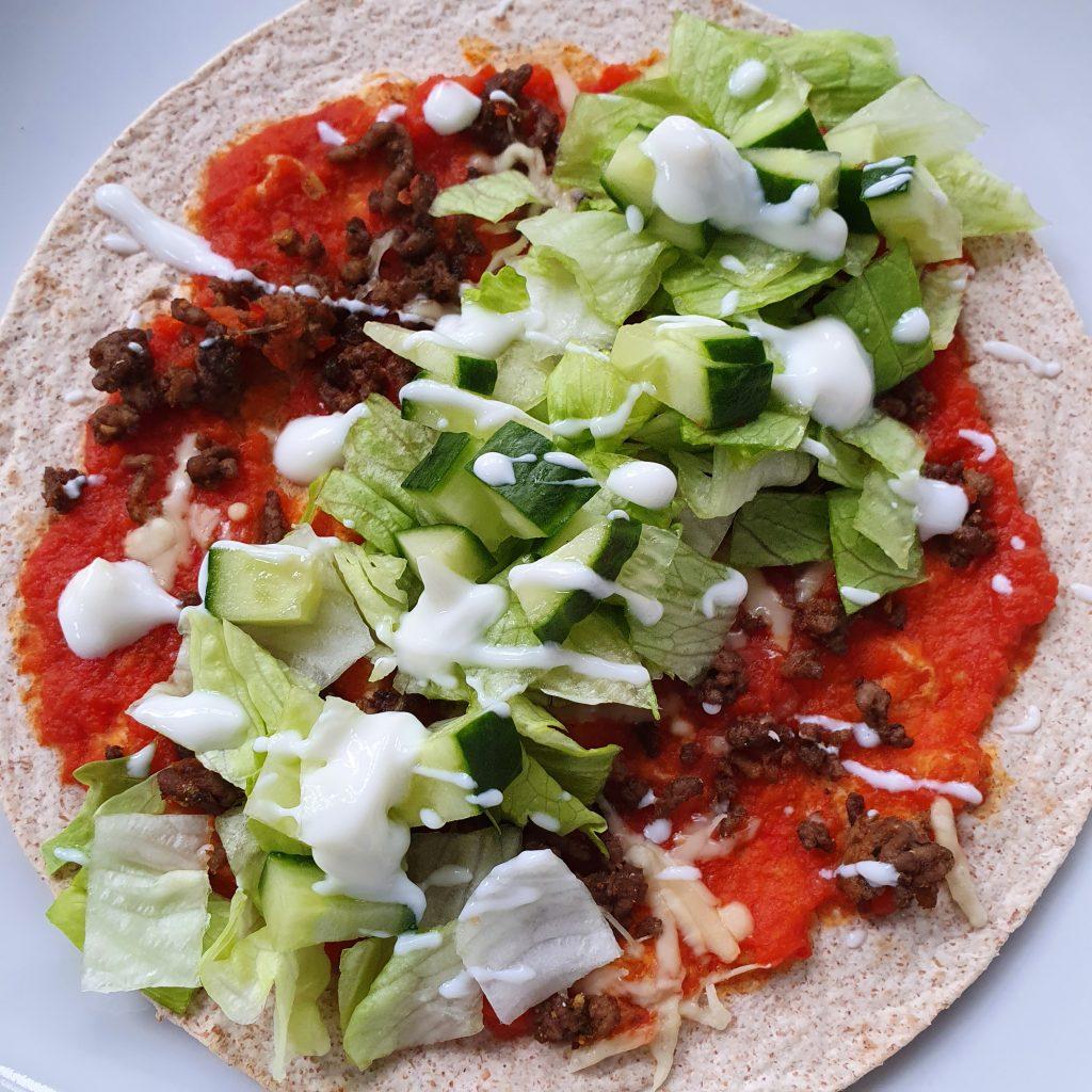 gezonde Turkse pizza